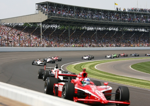 indianapolis 500 Re-starts ...