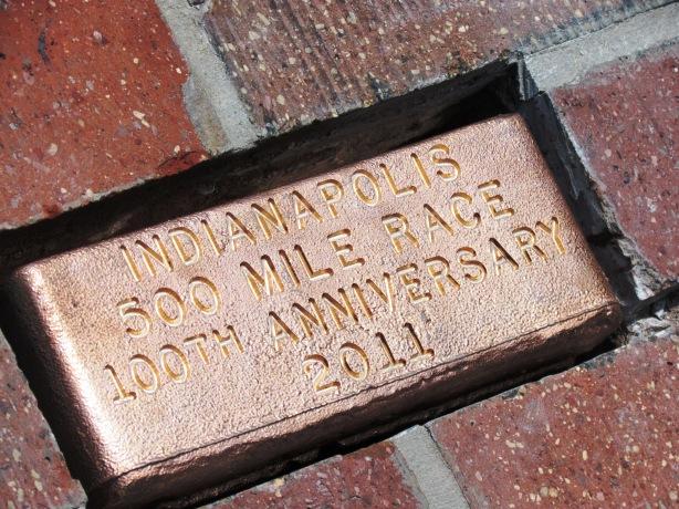 Indianapolis Motor Speedway Centennial Brick