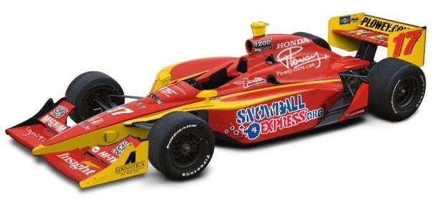 Martin Plowman IndyCar
