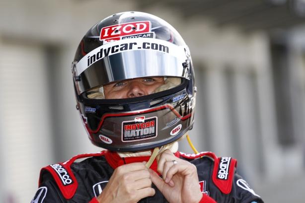 Two-time Indianapolis 500 winner Dan Wheldon