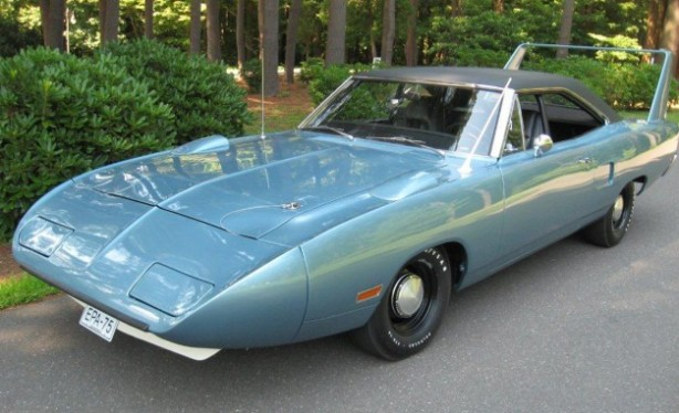 The fully restored 1970 Nichels Engineering EPA Plymouth Superbird in 2012 ...