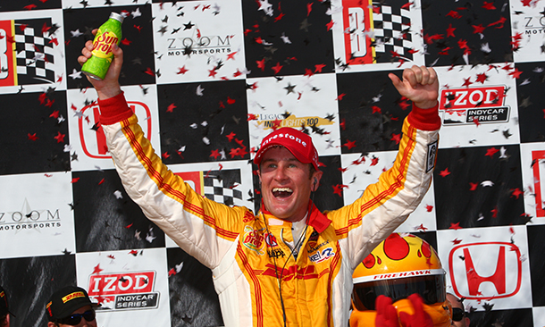 2013 Indycar Barber win