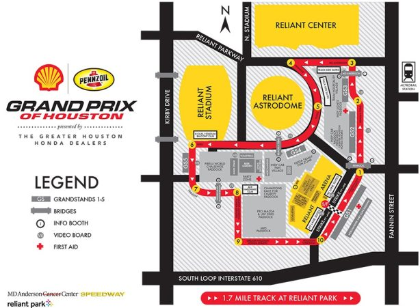 Virtual Lap of IndyCar Grand Prix of Houston | Sdway Sightings on