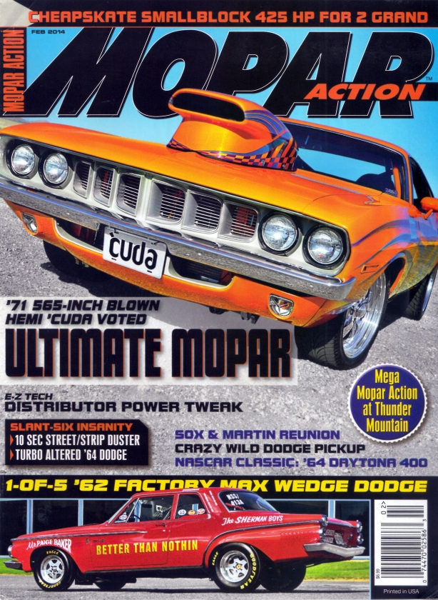 mopar action four - cover