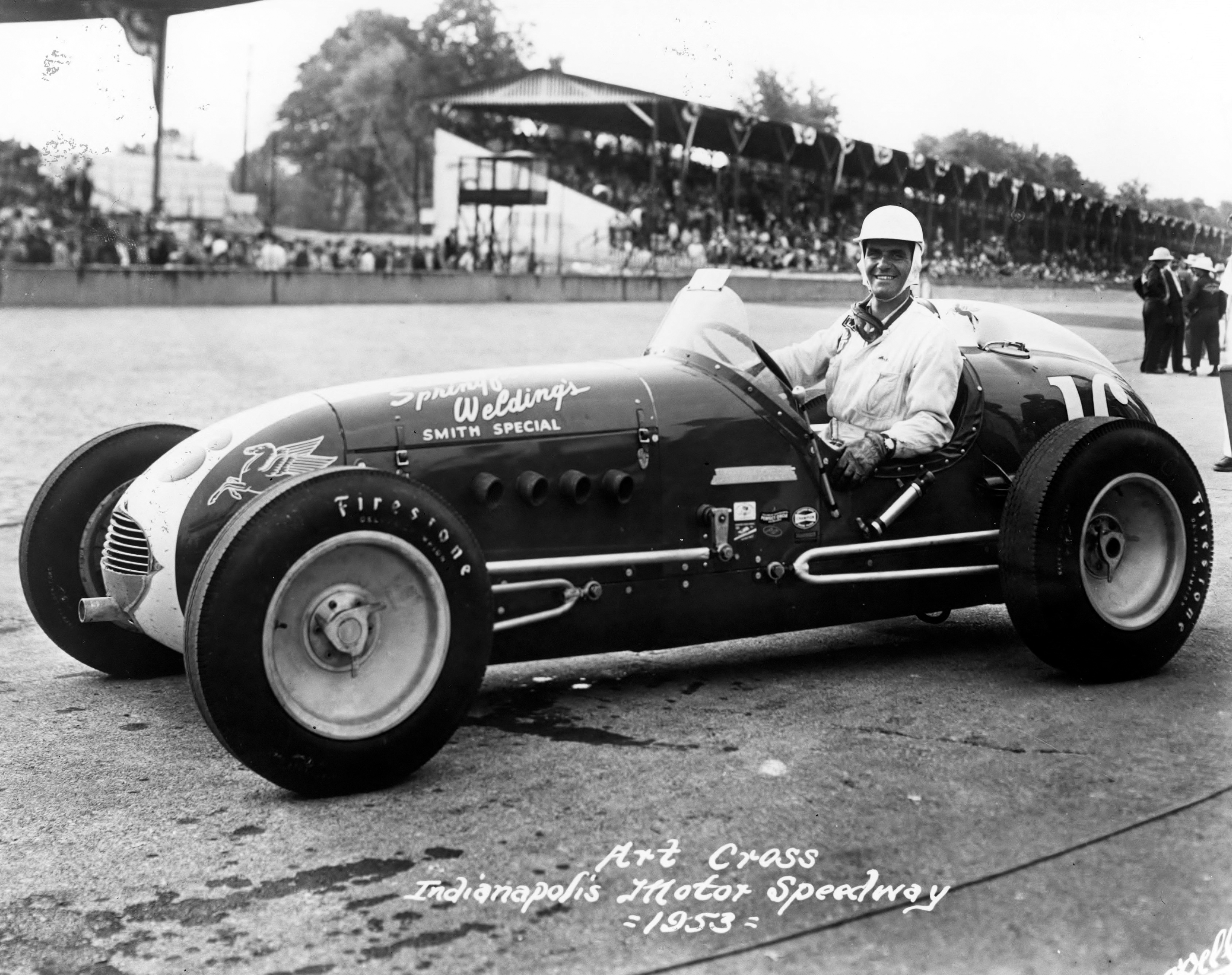 Art Cross – The First Ever Indianapolis 500 Rookie of the Year ...