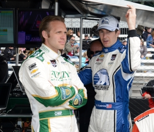 Ed Carpenter has Indy 500 pole – for now