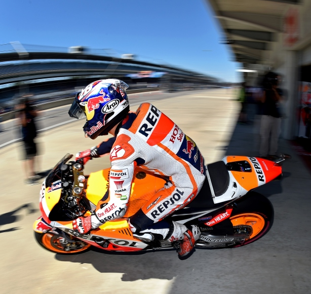 Dani Pedrosa -- Image by Chris Owens for the Indianapolis Motor Speedway