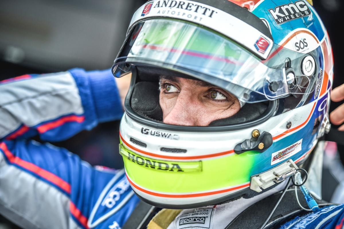 Justin Wilson Airlifted from Pocono Raceway ...
