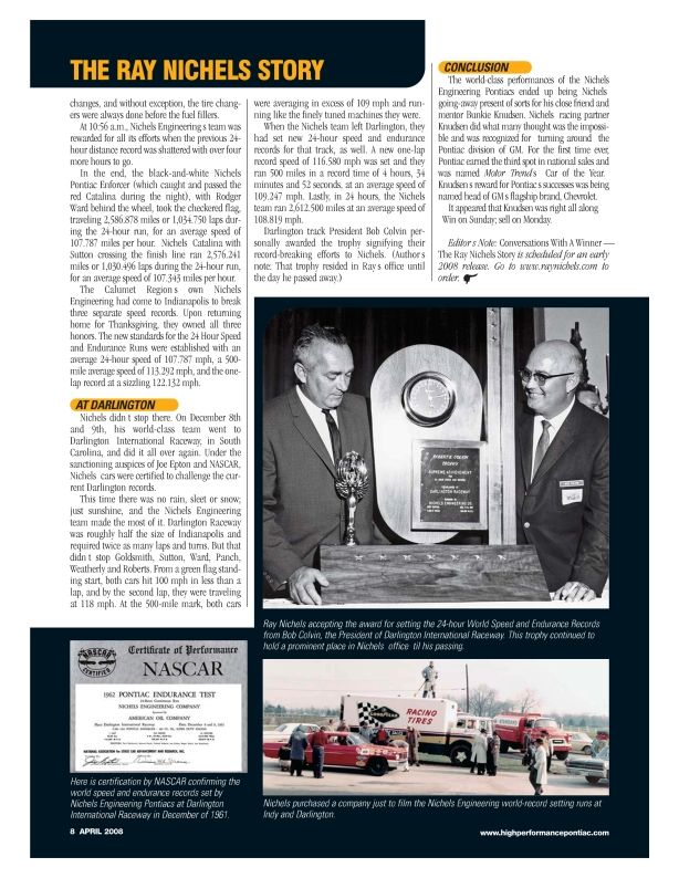 WmR Article HPP Magazine - April 2008-page7