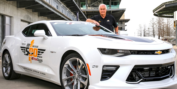 Roger Penske To Drive 50th Anniversary Camaro Ss Pace Car For 100th
