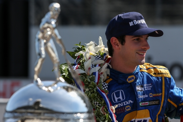 100th Running of the Indy 500 Champion, Andretti Autosport / Herta Racing's Alexander Rossi -- IMS Image by Joe Skibinski