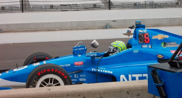 Chip Ganassi Racing's Tony Kanaan - Image by Jeff Majeske
