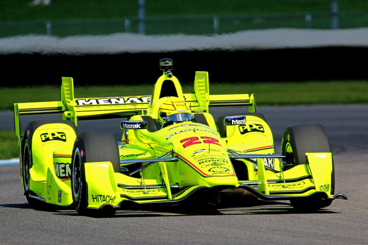 Pagenaud's torrid streak continues with Angie's List Grand Prix of Indianapolis pole ...