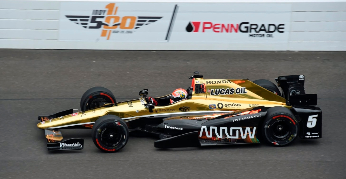 Hinchcliffe Fastest Following First Day of Indianapolis 500 Qualifying ...