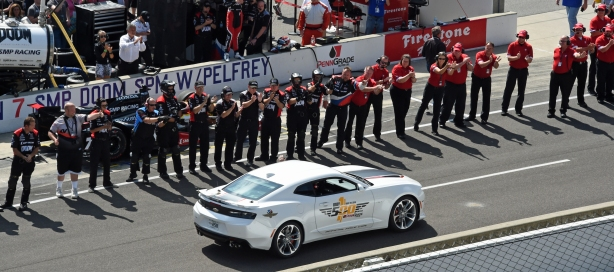 Johnny Rutherford's last Indianapolis 500 as the Pace Car Driver will be on Sunday -- Image by Jim Haines