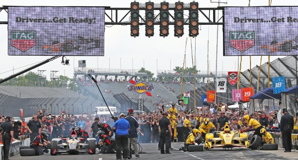 IndyCar Pit Stop competition - Image by Mike Harding