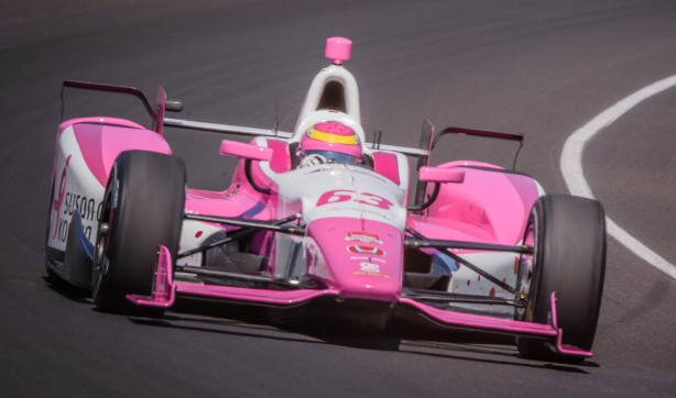 Pippa Mann -- Photo by Forrest Mellott