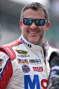 Tony Stewart at Indianapolis Motor Speedway -- Image by Chris Owens