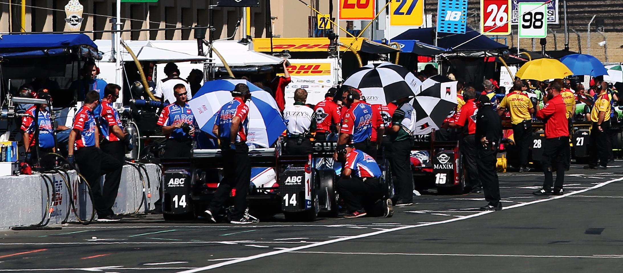 IndyCar Championship Leader Simon Pagenaud Wins Pole for