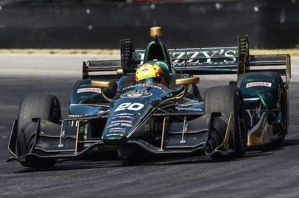 Since 2014, the No. 20 has been split between Carpenter on the ovals and a second driver for the road and street races. Pigot is the first driver to have the road and street course seat of the No. 20 for a second year.