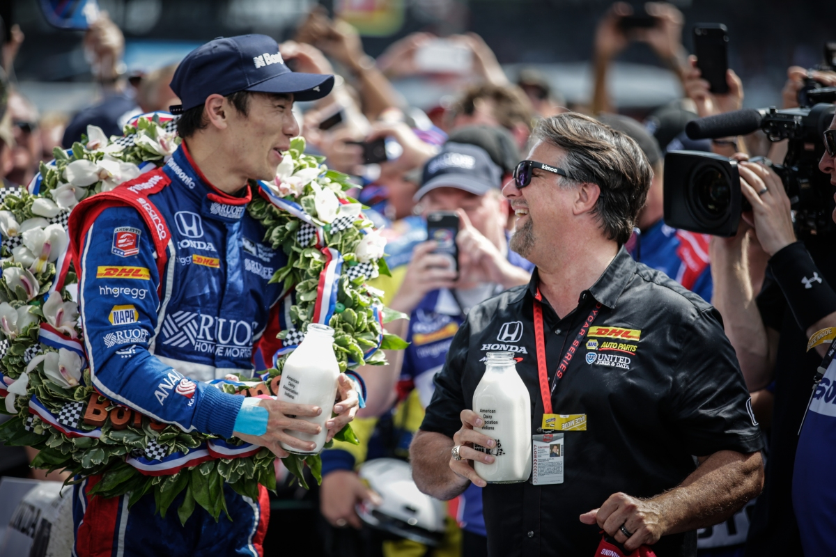 Takuma Sato becomes first Japanese winner of Indianapolis 500 in thrilling finish ...