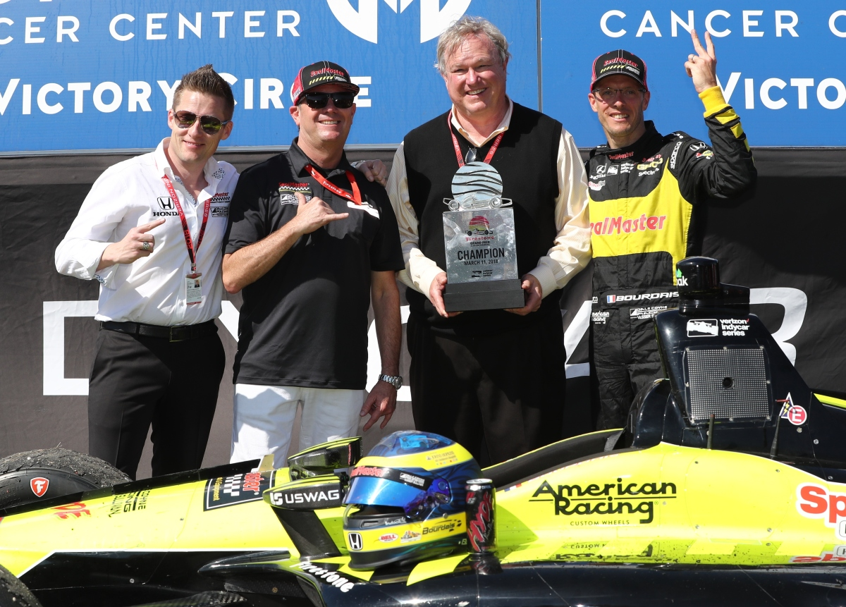Sebastien Bourdais collects second straight Grand Prix of St. Pete win in wild finish ...
