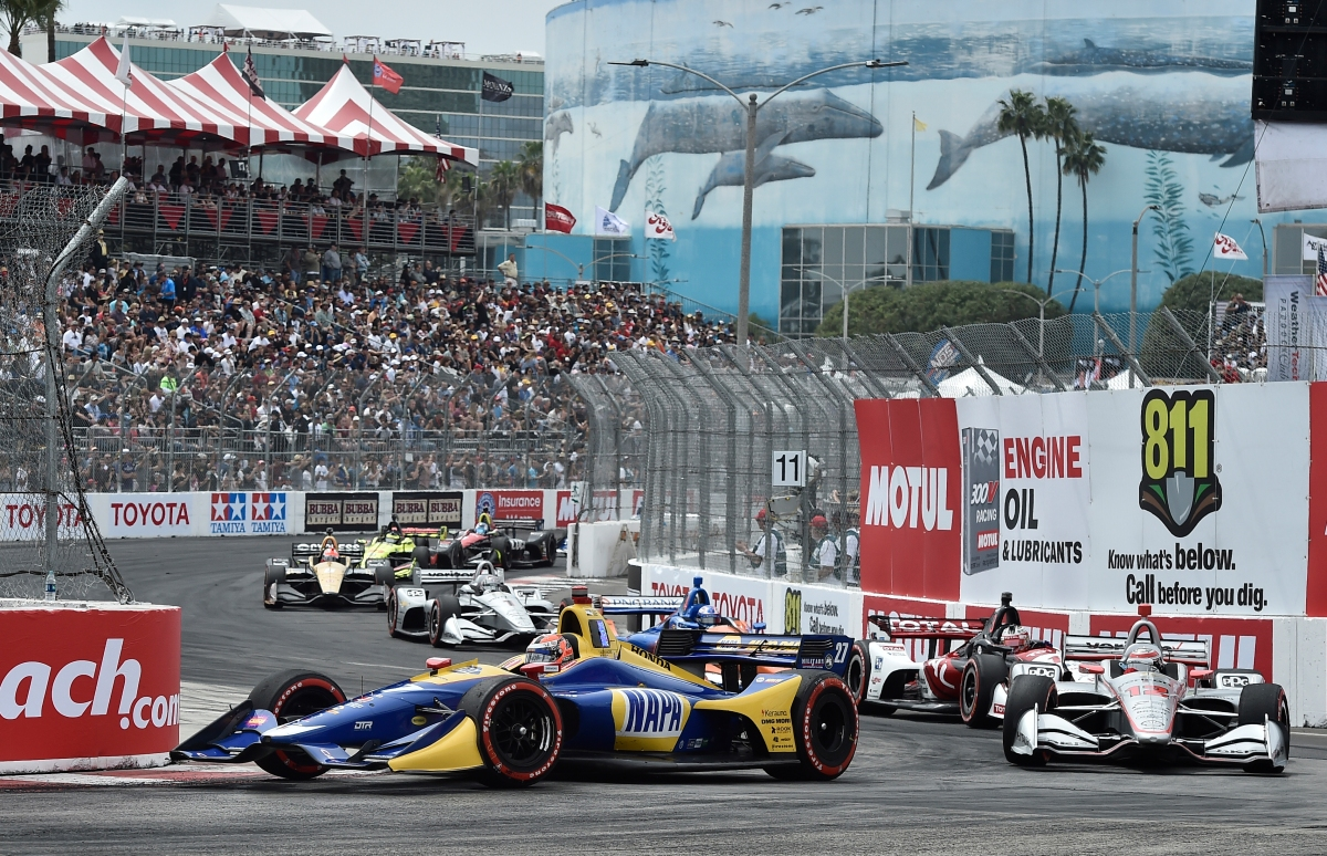Alexander Rossi caps dominant Long Beach IndyCar weekend with impressive victory ...