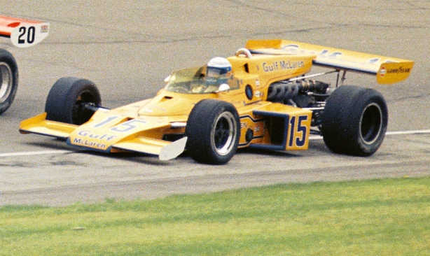 1973 Indy 500 Fourth Row Revson