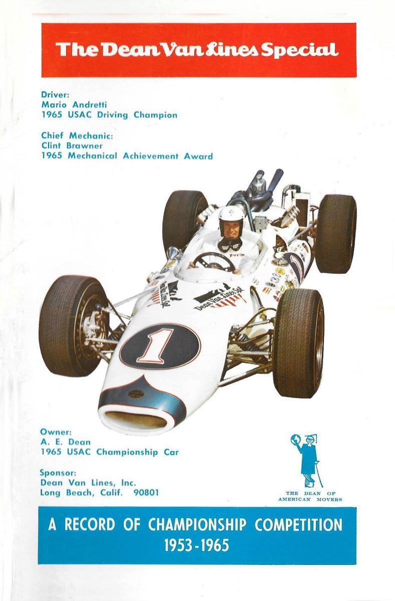 The Dean Van Lines Special - 1953-1965 ...